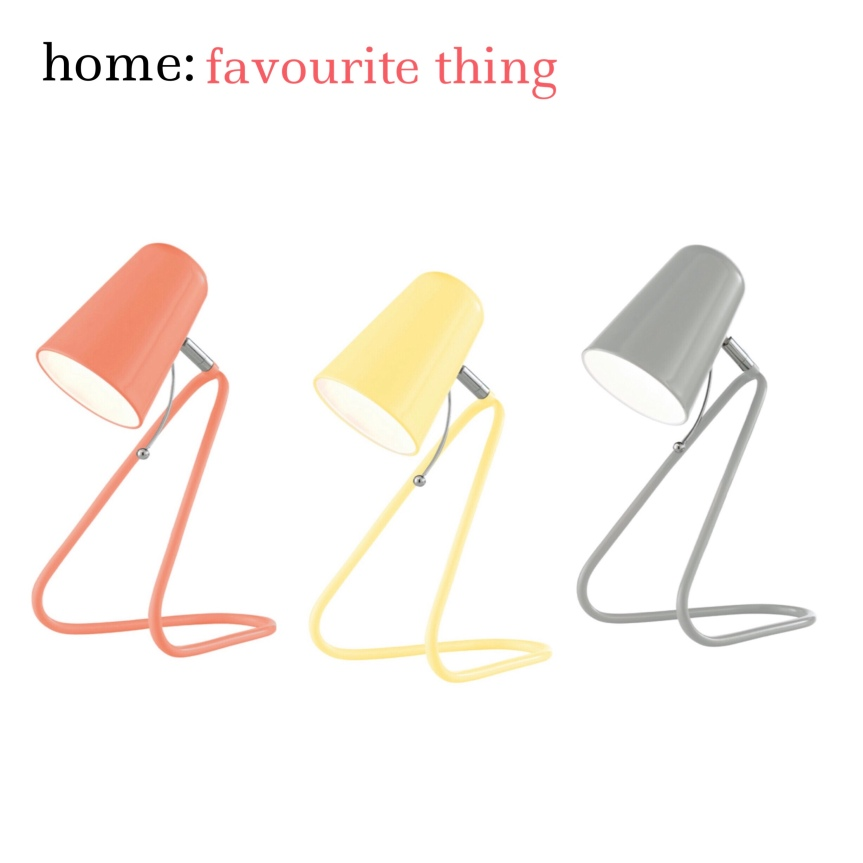home: favourite thing [ table lamp]