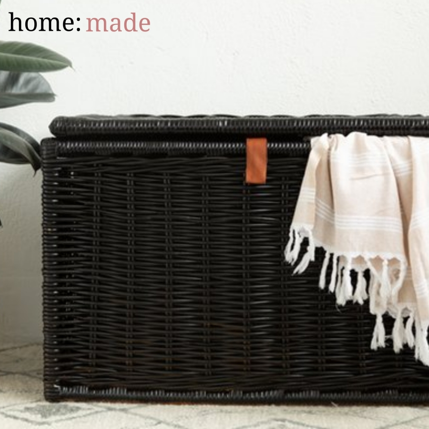 home: made [ painted basket ]