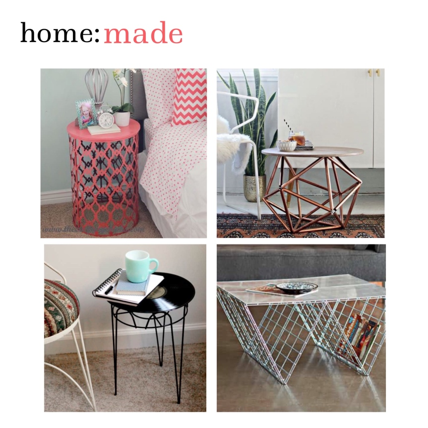 home: made [ side tables ]