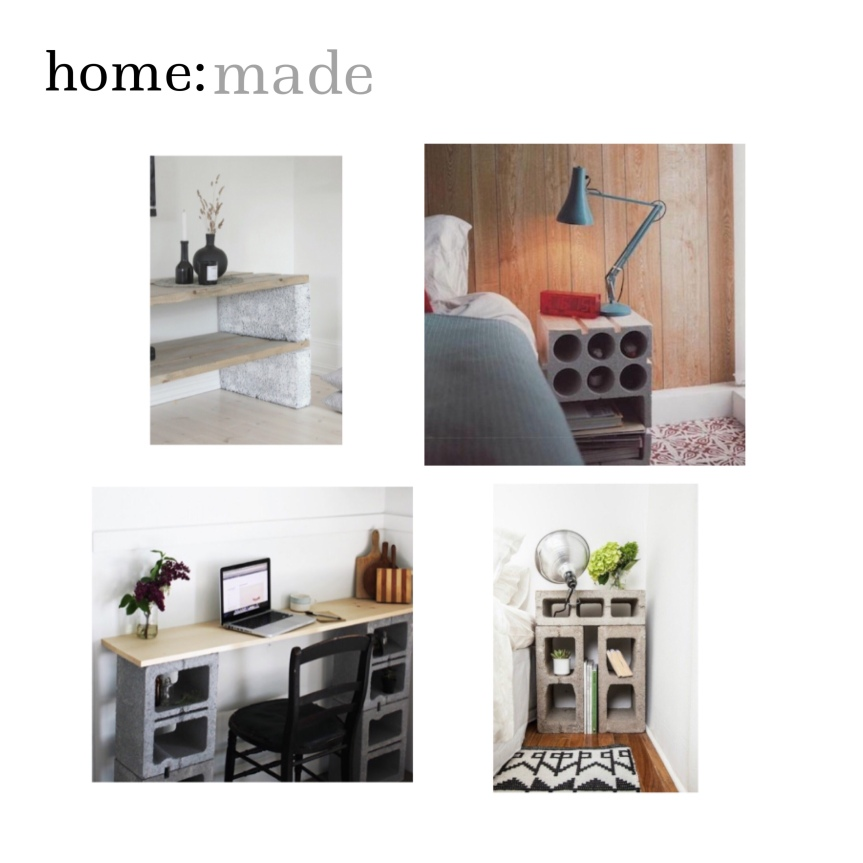 home: made [ concrete furniture ]