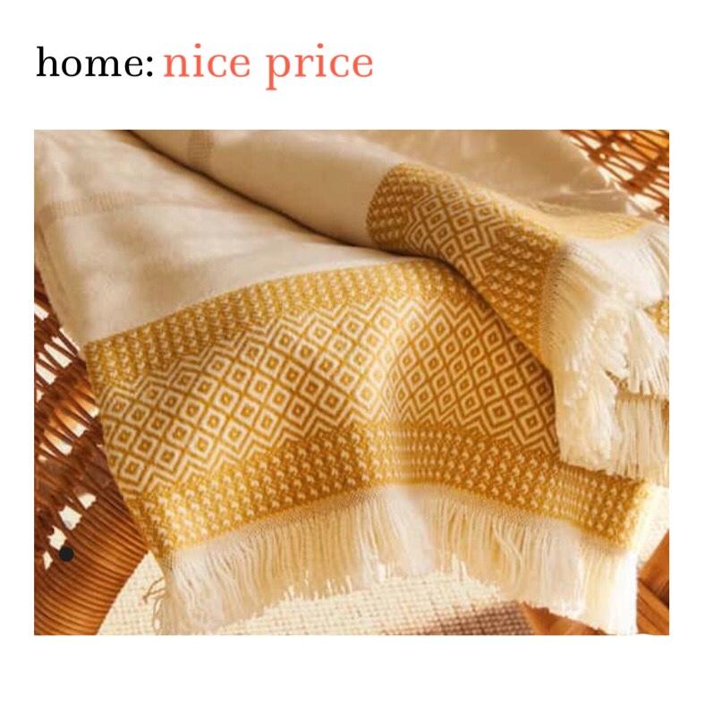 home: nice price [ blanket]