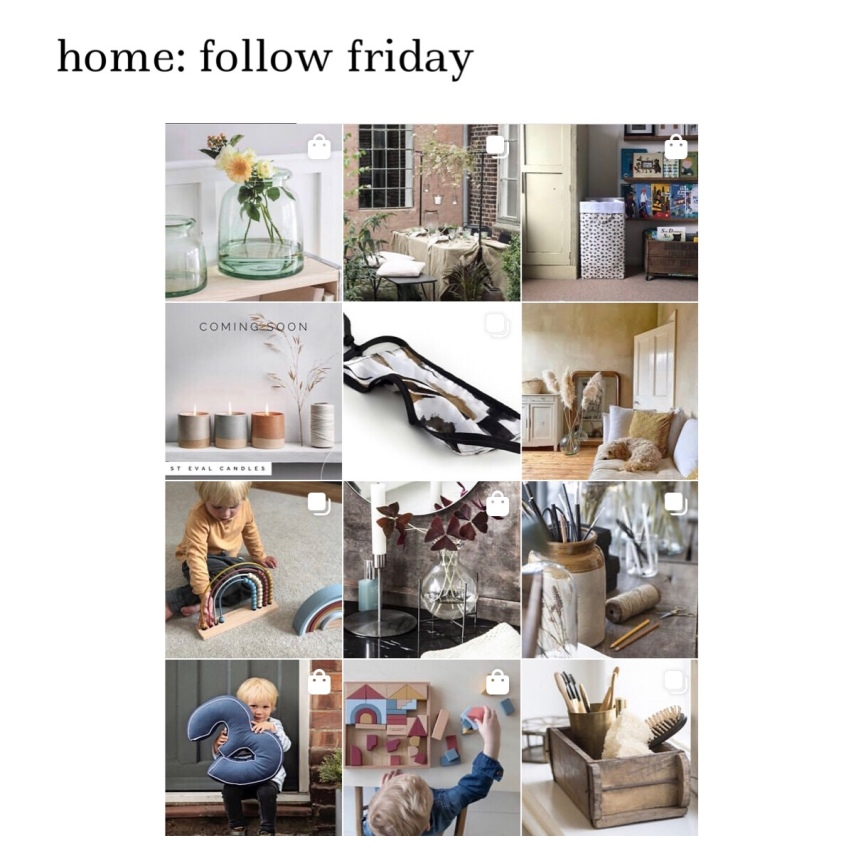 home: follow friday [ The Little House Shop ]