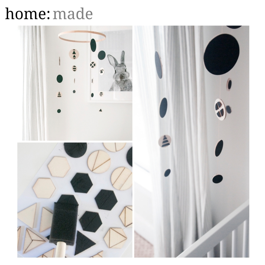 home: made [ DIY mobile ]