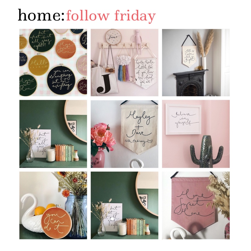 home: follow friday [ Oh Squirrel ]