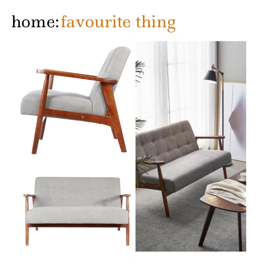 home: favourite thing [ midcentury style sofa ]