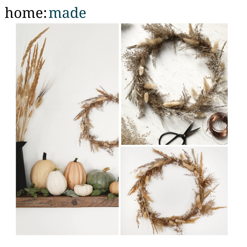 home: made [ autumn wreath ]