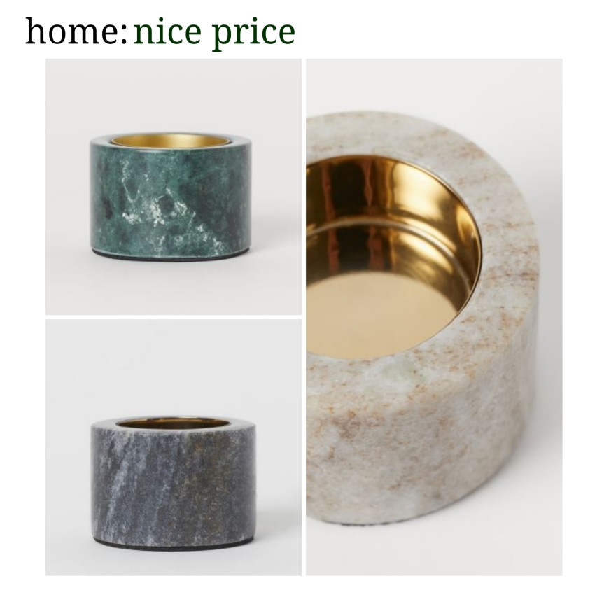 home: nice price [ tealight holder ]