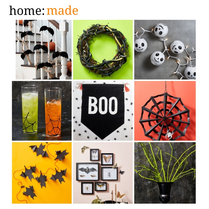 home: made [ DIY Halloween ]
