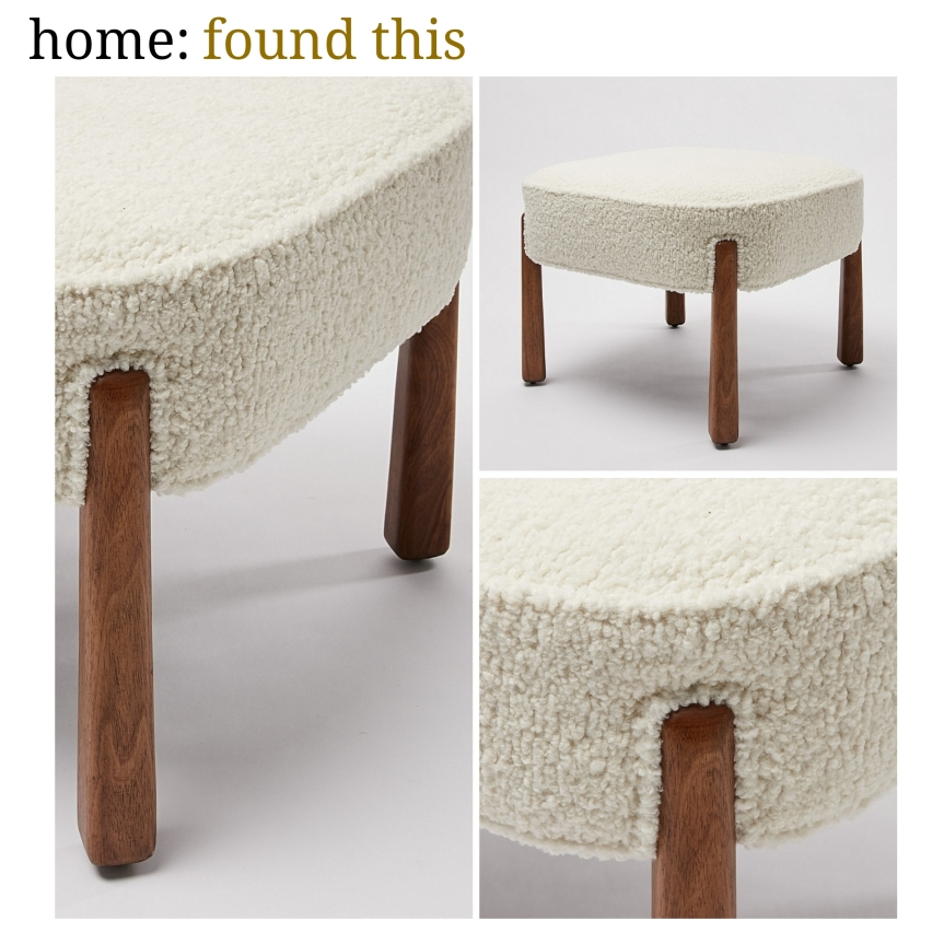 home: found this [footstool]