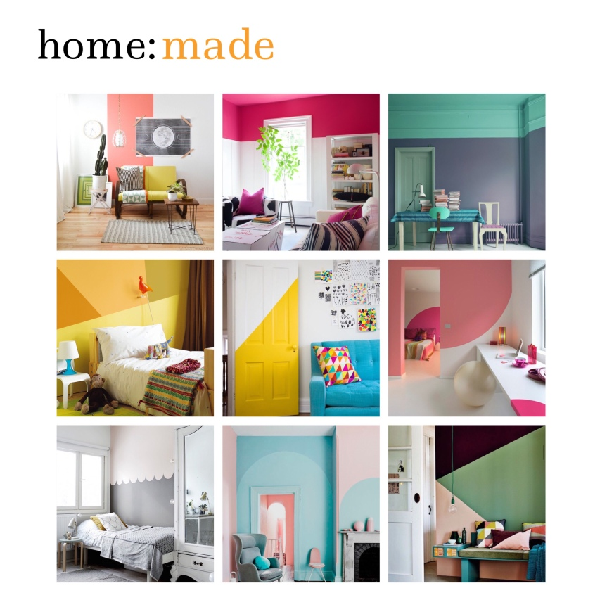 home: made [ painted walls ]