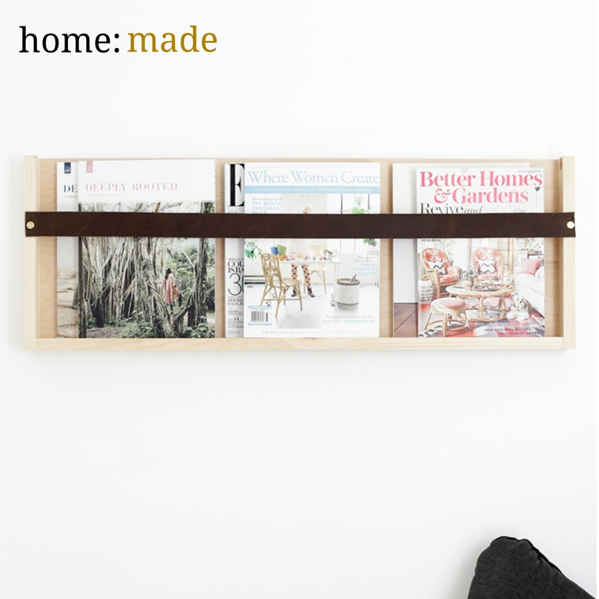 home: made [ magazine rack ]