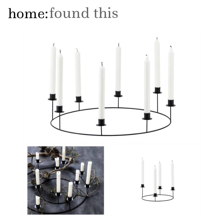home: found this [ candelabra ]
