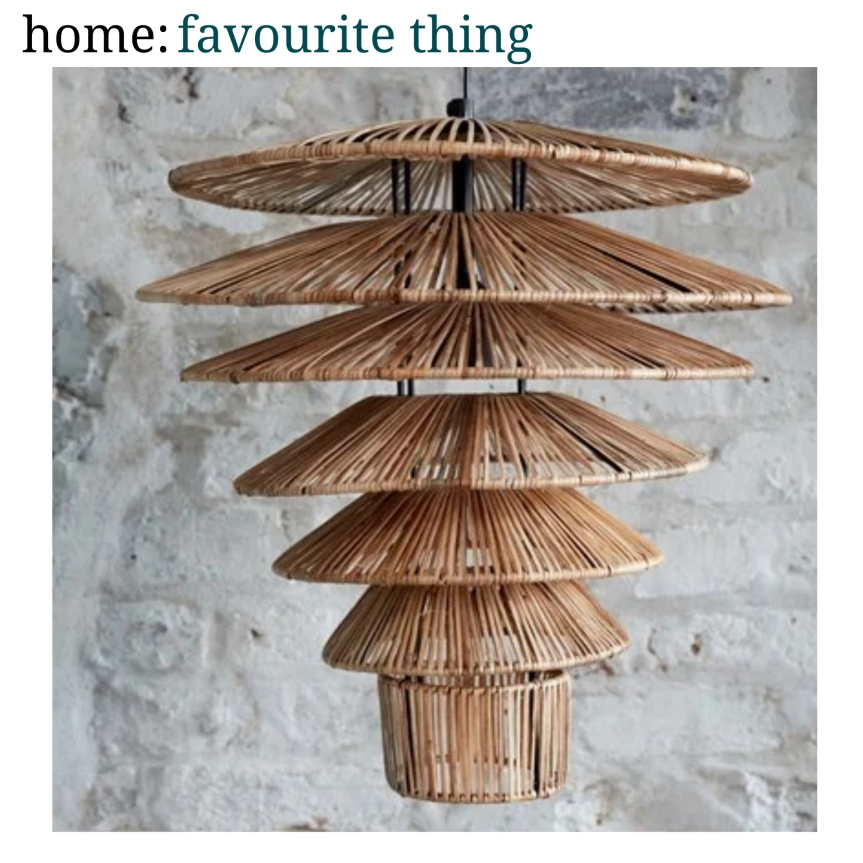 home: favourite thing [ pendant light]