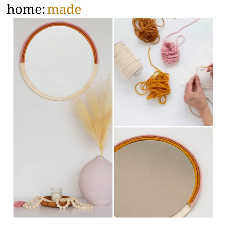 home: made [ boho mirror ]