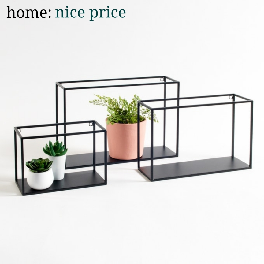 home: nice price [ set of shelves ]