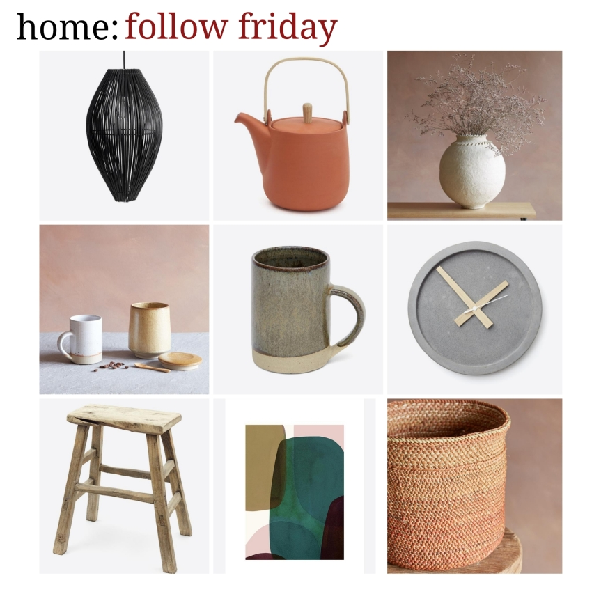 home: follow friday [ Oggetto ]