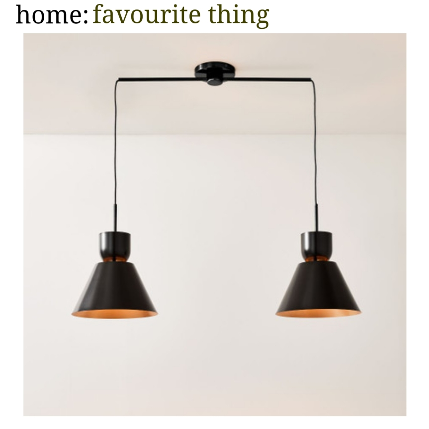 home: favourite thing [ ceiling light]