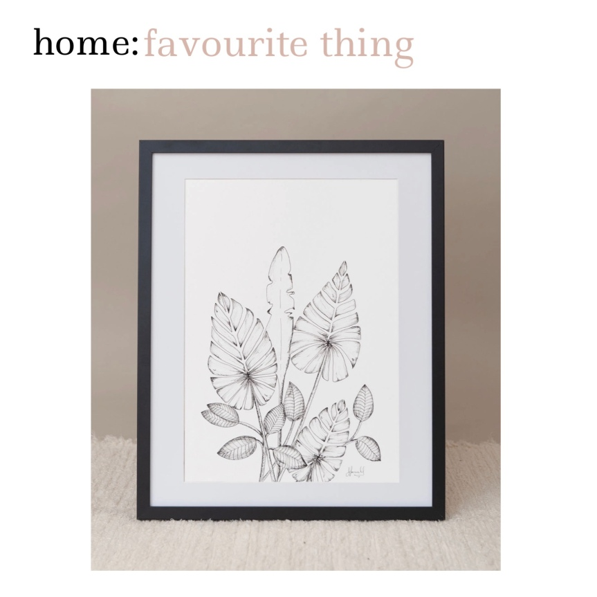 home: favourite thing [ print ]