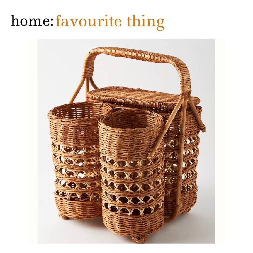 home: favourite thing [ wine picnic basket ]