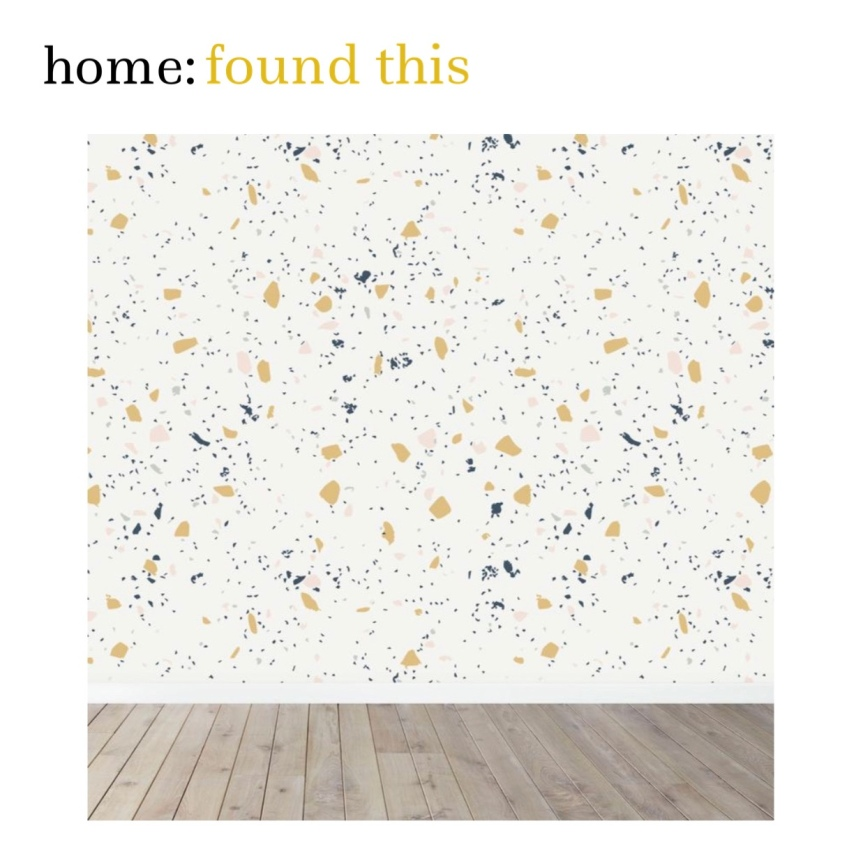 home: found this [ terrazzo wallpaper ]