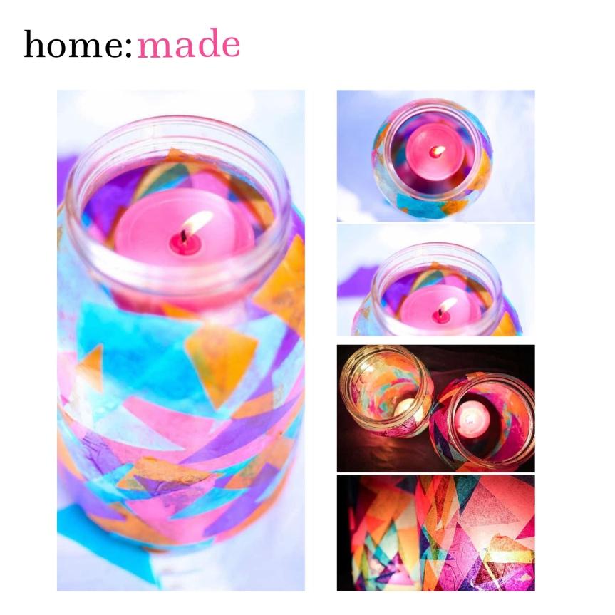 home: made [ garden lamps]
