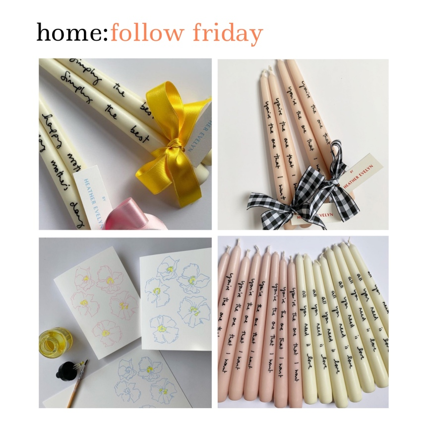 home: follow friday [ Heather Evelyn ]