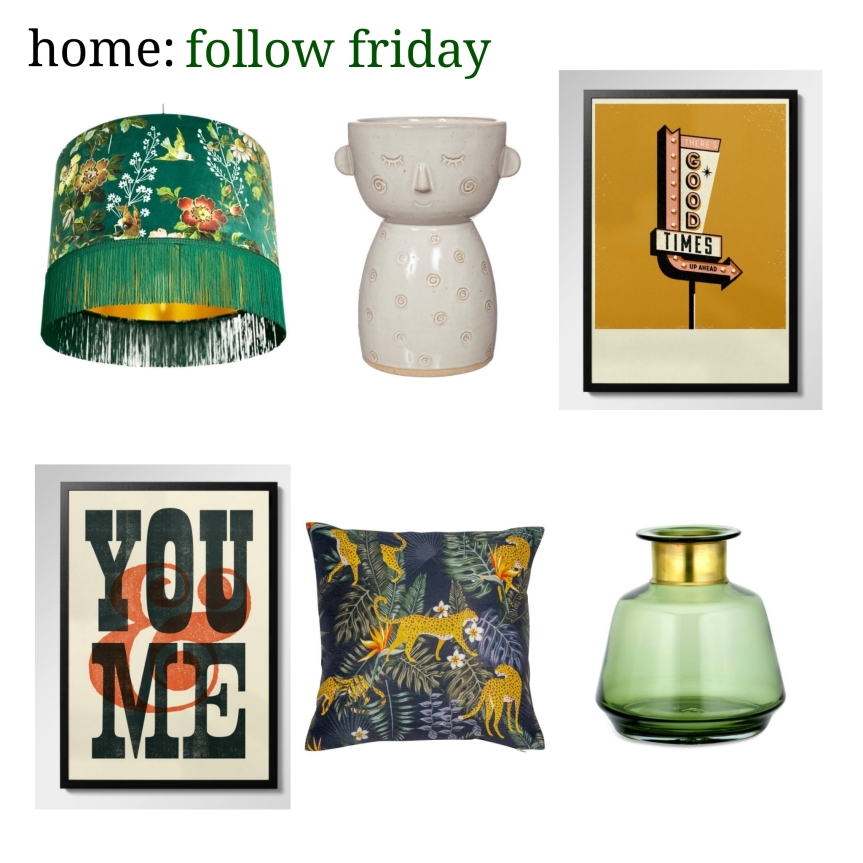 home: follow friday [ Mint & May ]