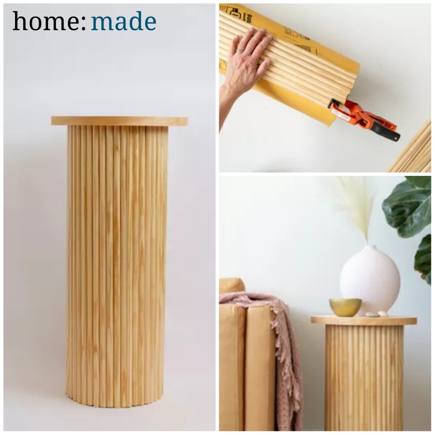 home: made [ side table ]