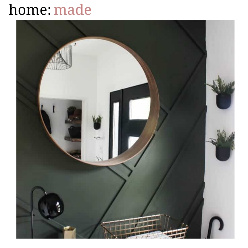 home: made [ wood paneling]
