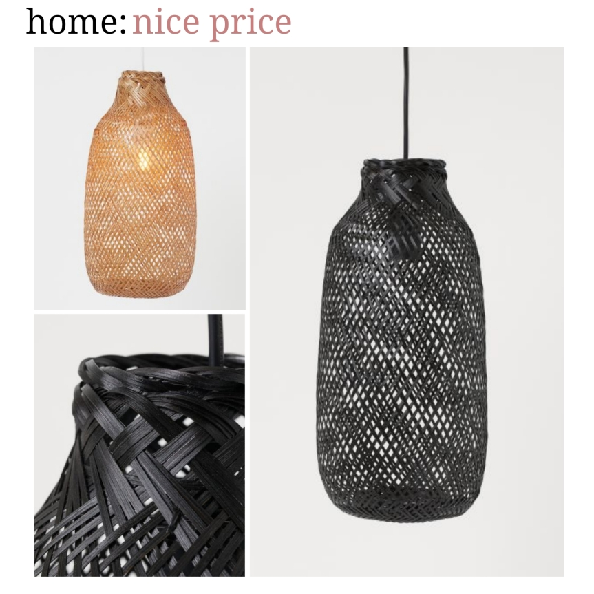 home: nice price [ pendant ]