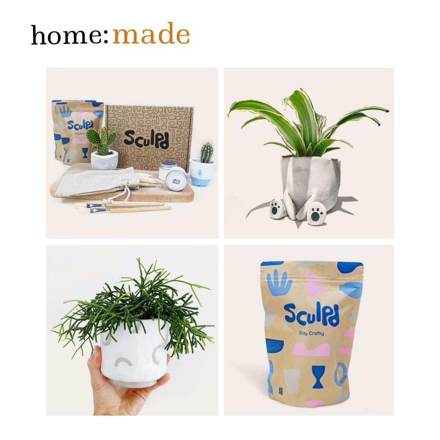 home: made [ pottery kit]