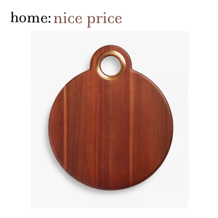home: nice price [ wood platter ]