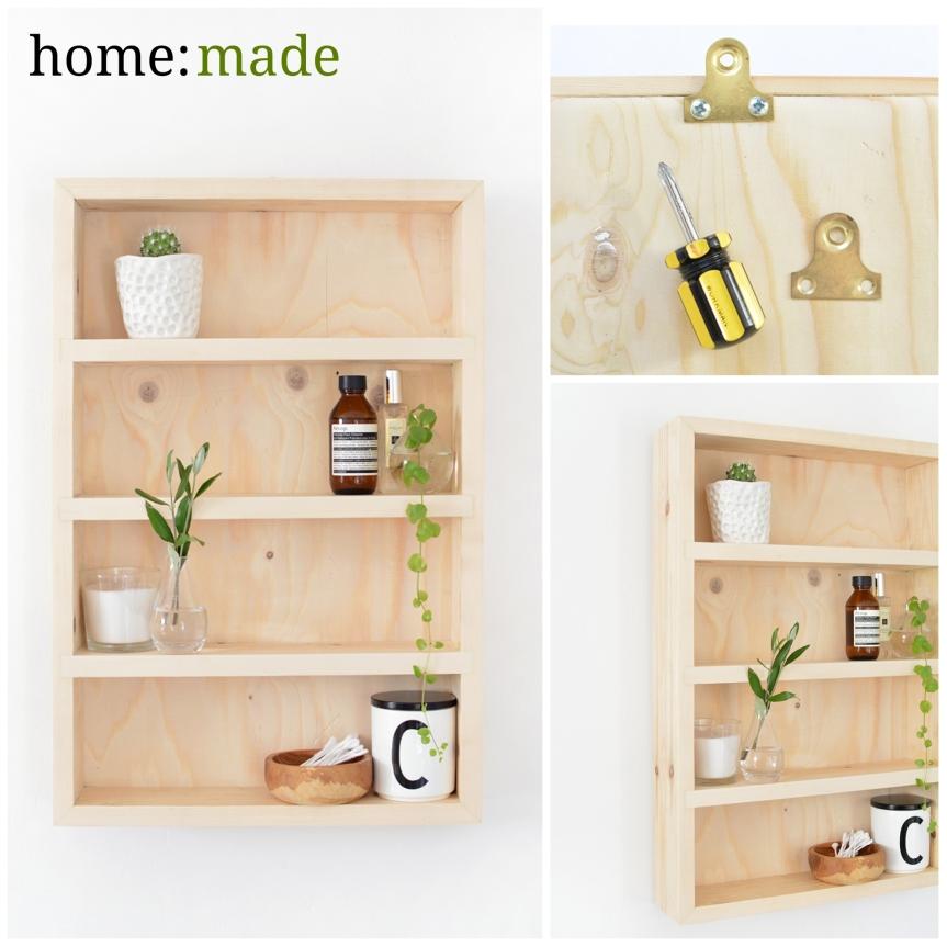 home: made [ shelving unit]