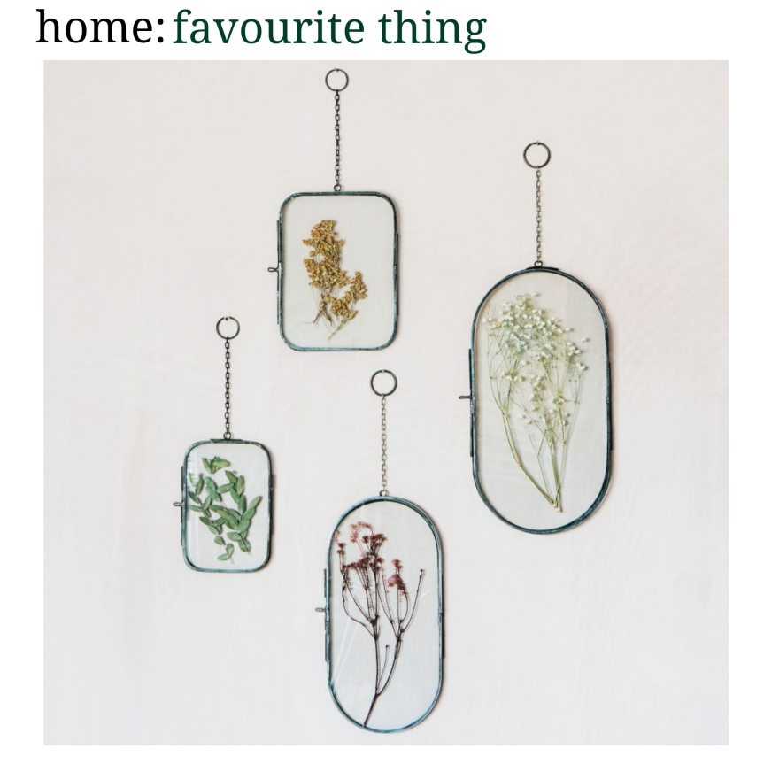 home: favourite thing [ hanging frames]