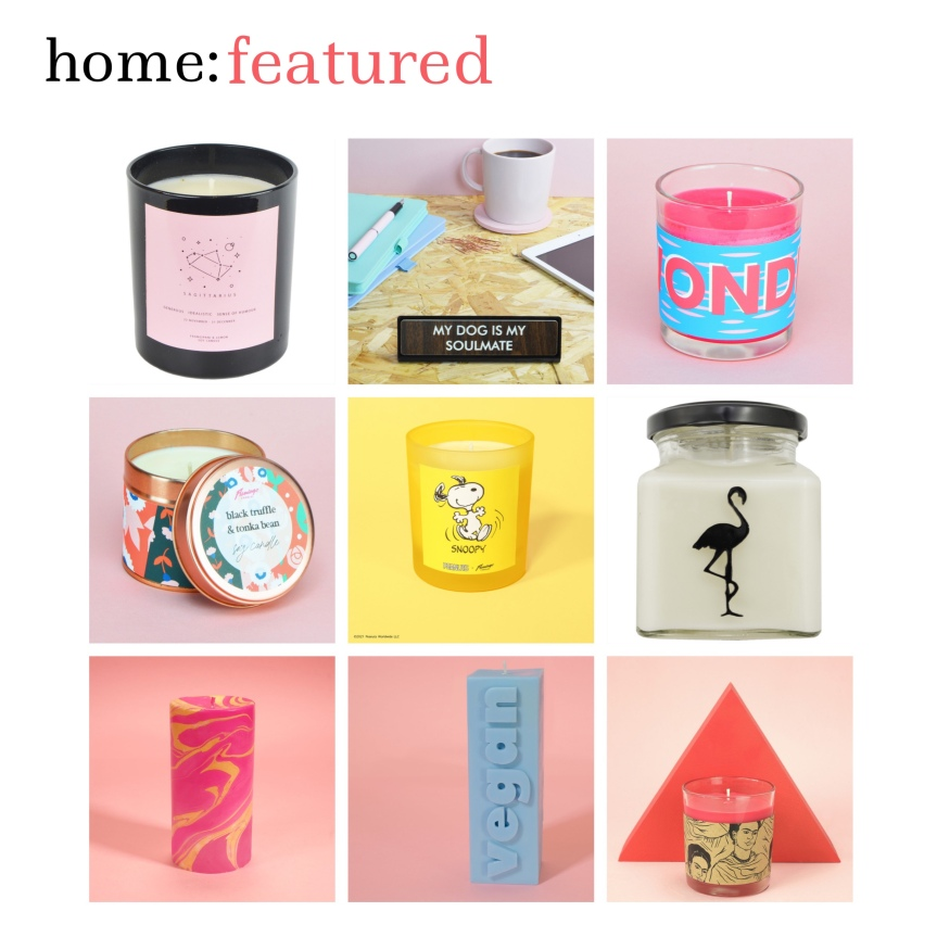home: featured [ Flamingo Candles ]