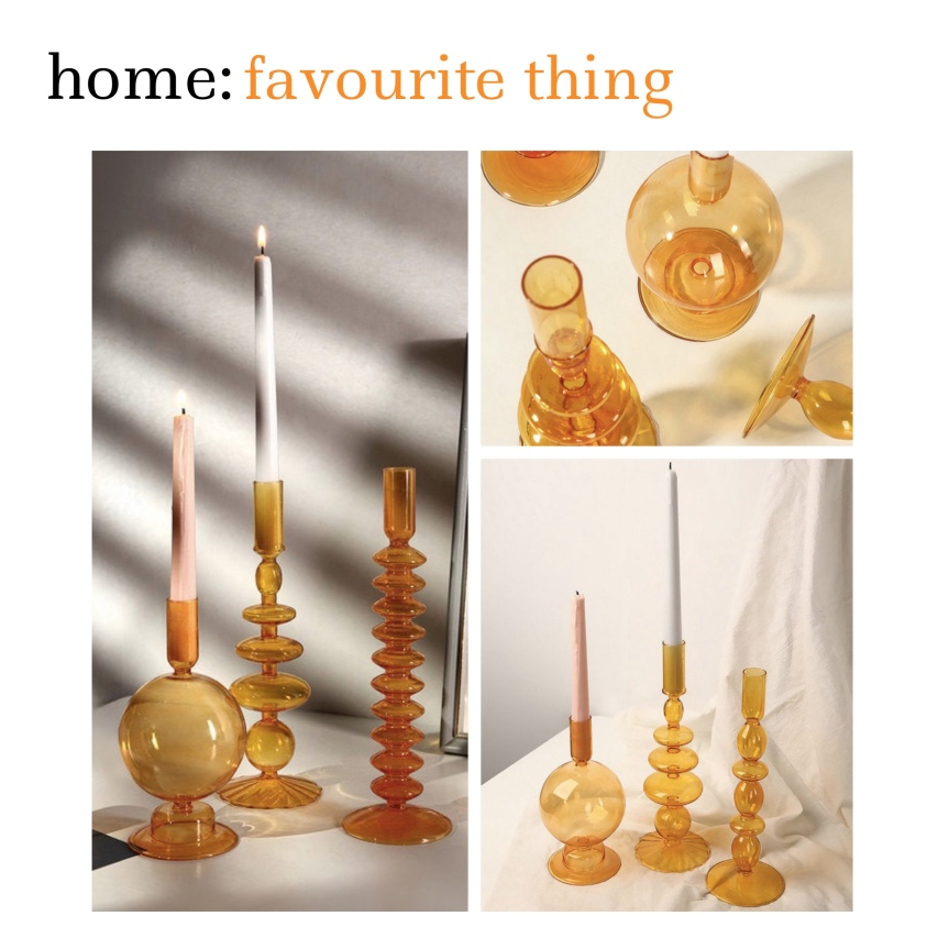 home: favourite thing [ candle holders ]