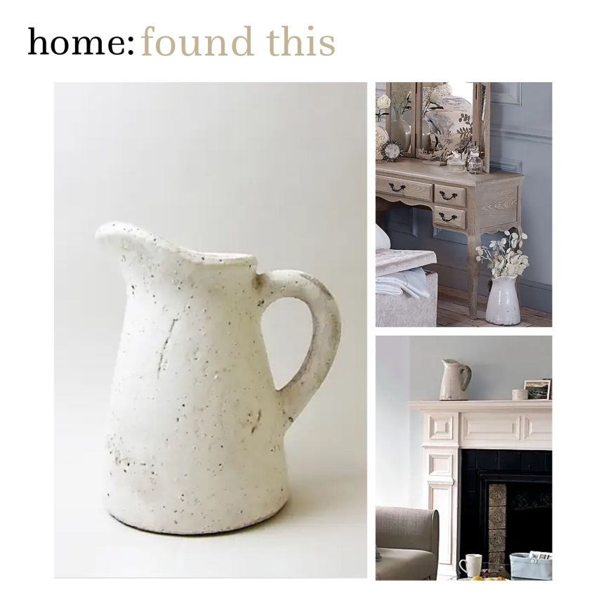 home: found this [ jug]