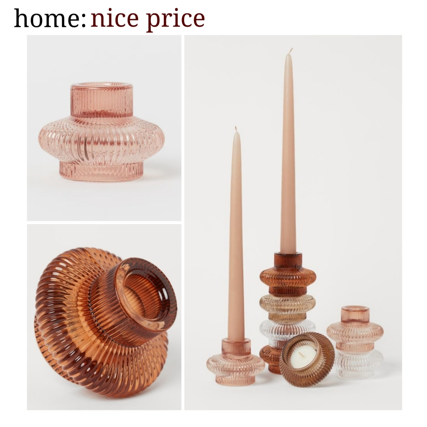 home: nice price [ candle holders]