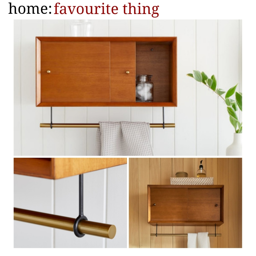 home: favourite thing [ bathroom cabinet]
