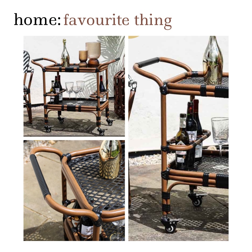 home: favourite thing [ outdoor drinks trolley]