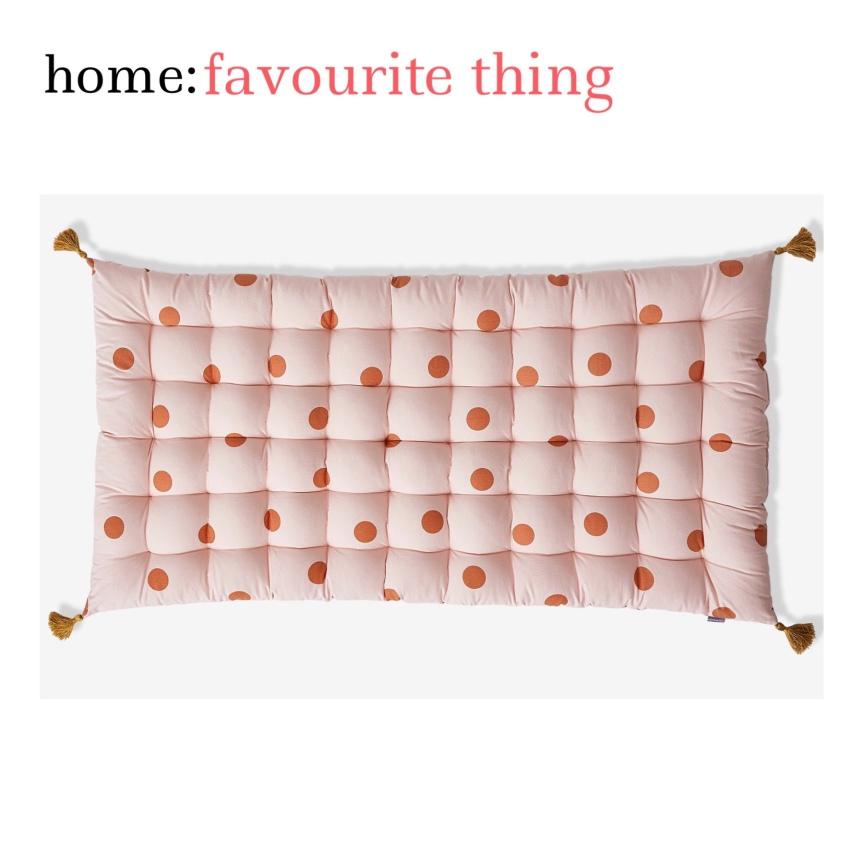 home: favourite thing [ mattress cushion]