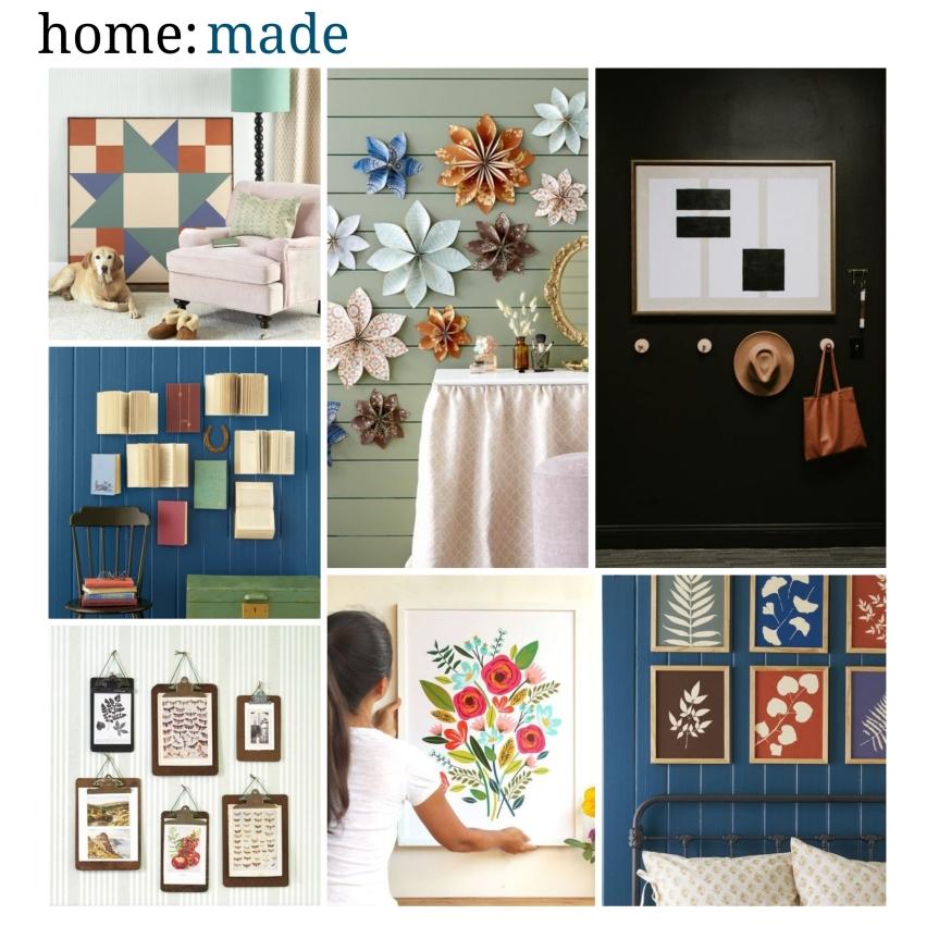 home: made [ DIY wall decor]