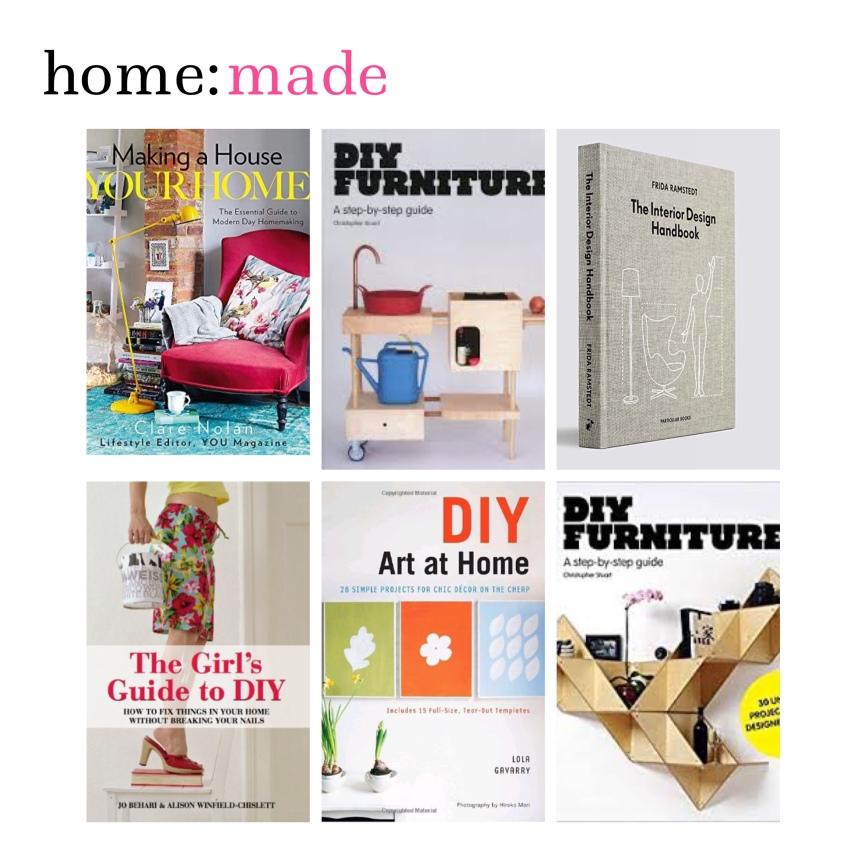 home: made [ diy books]