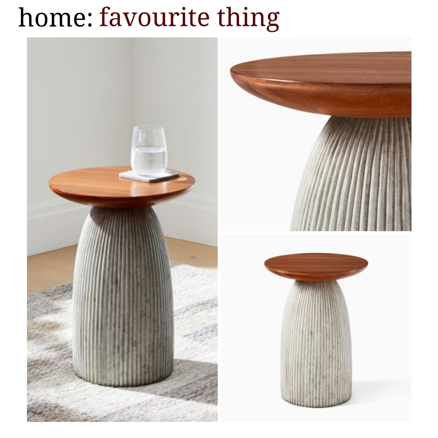 home: favourite thing [ side table]
