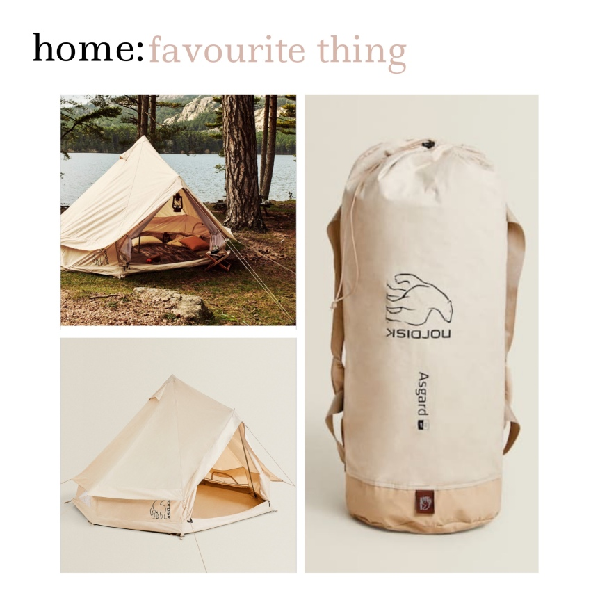 home: favourite thing [ tent]
