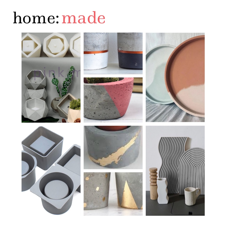 home: made [ concrete moulds]