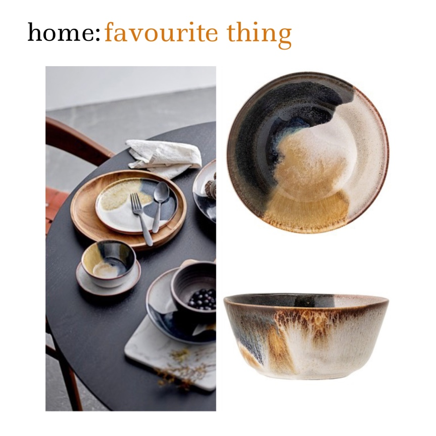 home: favourite thing [ bowl]