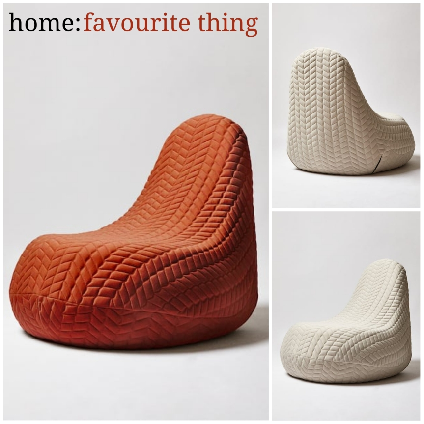 home: favourite thing [ armchair]