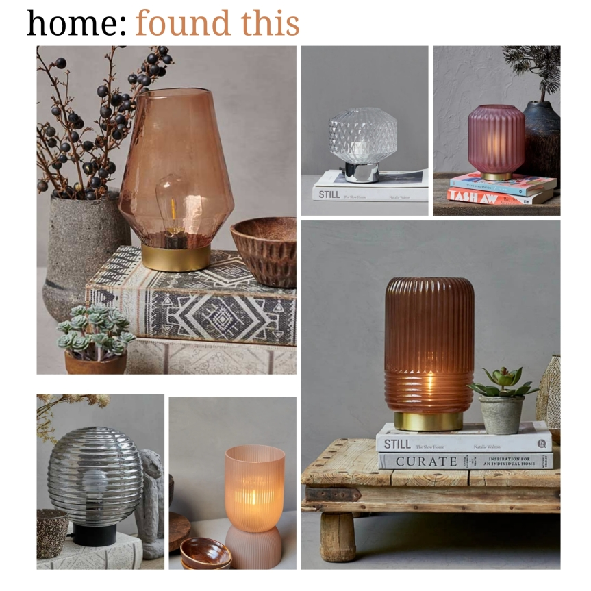 home: found this [ table lamps]