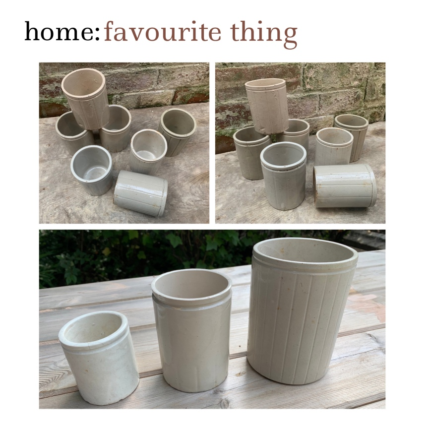 home: favourite thing [ stoneware pots]